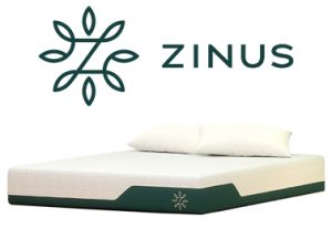 Zinus Cooling Gel Memory Foam Mattress