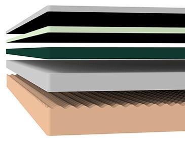 Zinus Pressure Relief Cloud Memory Foam Mattress Layers