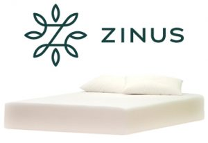 Zinus Pressure Relief Green Tea Memory Foam Mattress