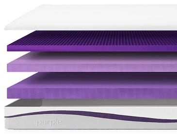 Purple Mattress Layers