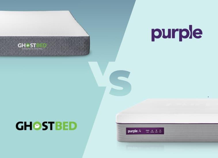 ghostbed mattress vs purple mattress