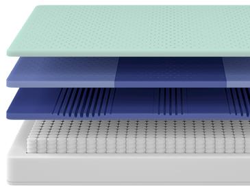 Casper Nova Hybrid Mattress Layers
