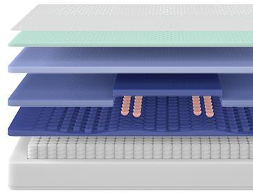 Casper Wave Hybrid Mattress Layers